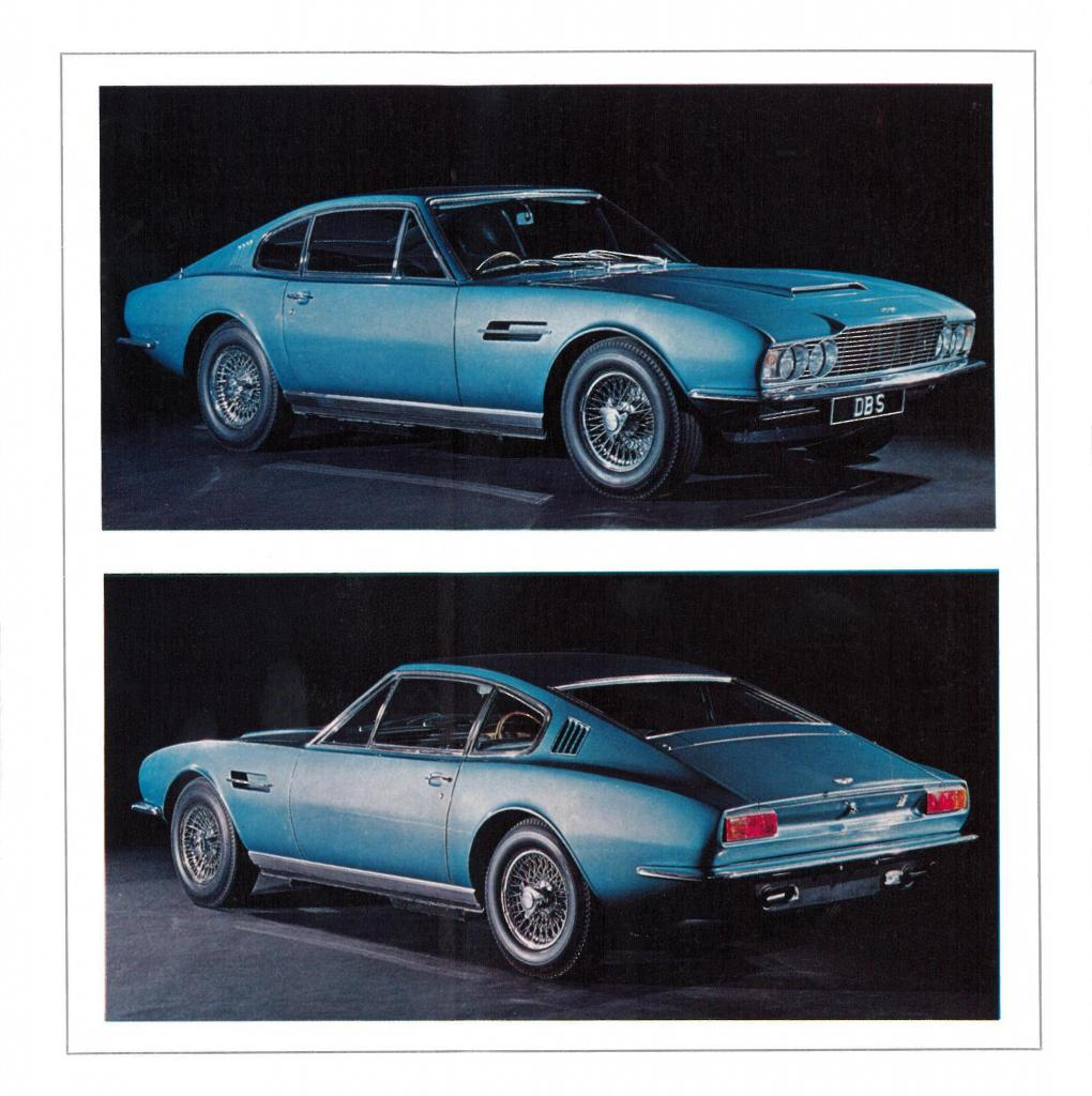 Second Sales Brochure For The Aston Martin DBS 6 Cylinder